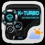 icon K-Turbo Weather Widget Theme