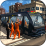 icon Police Bus Prisoner Transport