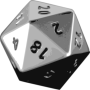 icon D20 DnD Dice Roller