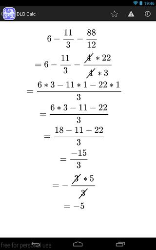 DLD Calc - Calculadora matemática
