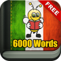 icon Learn Italian Vocabulary - 6,000 Words