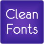 icon Fonts Clean for FlipFont® Free