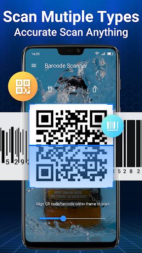 Escáner de Código QR y Escáner de Código de Barras