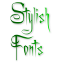 icon Stylish Fonts