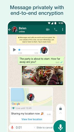 Mensaje de Whatssap