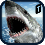 icon Crazy Shark 3D Sim