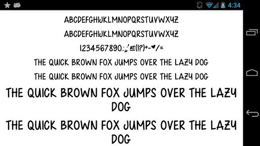 Fonts for FlipFont 50 Written para Samsung Galaxy J7 Neo