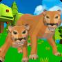 icon Cougar Simulator: Big Cat Family Game
