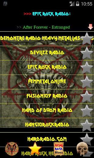 Heavy Metal Rock music radio