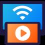 icon Cast to TV: Chromecast, Roku, Fire TV, Xbox, IPTV