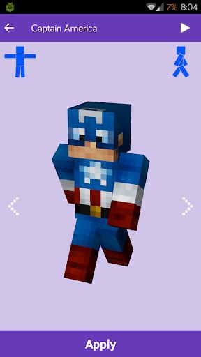 Pieles para Minecraft: MineSkins