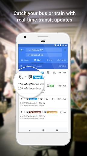 Mapas: navegación y tránsito