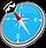 icon com.quranreading.qibladirection 6.1